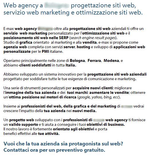 Web agency e-max Bologna