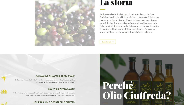 Home Page Olio Ciuffreda
